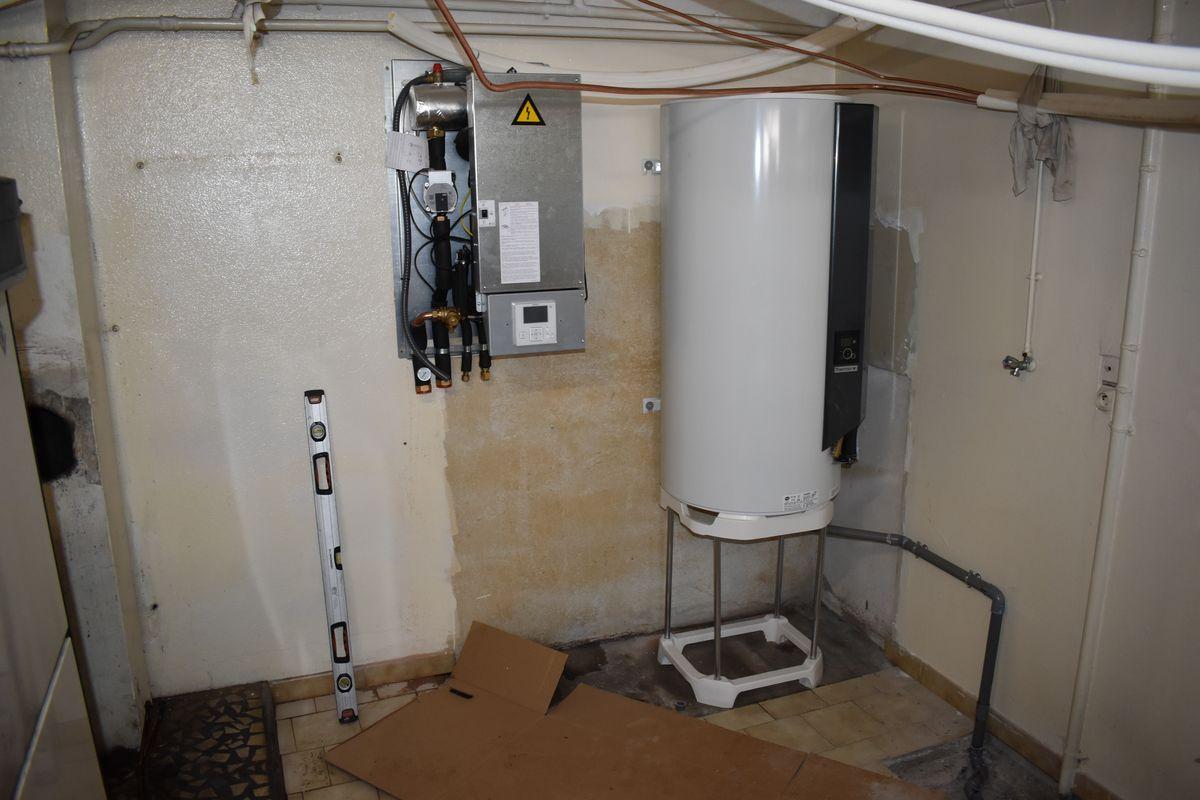 travaux renovation chauffage pompe a chaleur